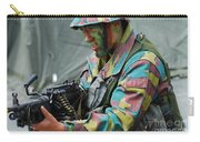 A Paratrooper Of The Belgian Army Carry-all Pouch