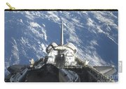 A Partial View Of Space Shuttle Carry-all Pouch
