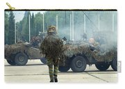 A Recce Or Scout Team Of The Belgian Carry-all Pouch
