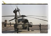 A Uh-60 Black Hawk Helicopter Parked Carry-all Pouch