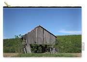 Abandoned Old Farm Building With Blue Sky Carry-all Pouch