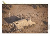 Aerial View Of A Destroyed Iraqi Carry-all Pouch