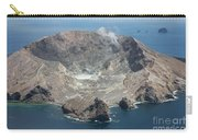 Aerial View Of White Island Volcano Carry-all Pouch
