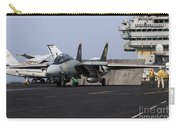 An F-14d Tomcat In Launch Position Carry-all Pouch