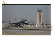 An F-16 Fighting Falcon Takes Carry-all Pouch