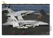 An Fa-18c Hornet During Flight Carry-all Pouch