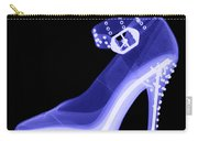 An X-ray Of A High Heel Shoe Carry-all Pouch