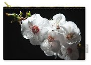 Apricot Flowers At Night Carry-all Pouch