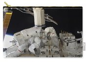 Astronauts Working On The International Carry-all Pouch
