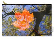 Autumn Leaf On The Water Carry-all Pouch