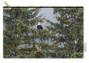 Bald Eagle Haliaeetus Leucocephalus Carry-all Pouch