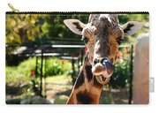 Baringo Giraffe Carry-all Pouch