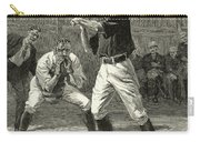 Baseball, 1888 Carry-all Pouch