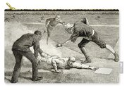 Baseball Game, 1885 Carry-all Pouch