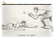 Baseball Players, 1889 Carry-all Pouch