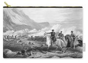 Battle Of Buena Vista, 1847 Carry-all Pouch by Granger