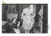 Bedroom Scene, 1920s Carry-all Pouch