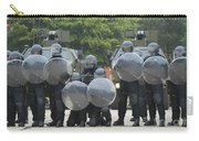 Belgian Infantry Soldiers Training Carry-all Pouch by Luc De Jaeger