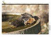 Bird Bath Fun Time Carry-all Pouch