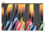 Birthday Candles Carry-all Pouch