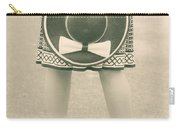 Black And White Carry-all Pouch by Joana Kruse