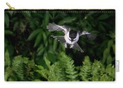Black-capped Chickadee In Flight Carry-all Pouch