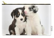 Boreder Collie Puppies Carry-all Pouch