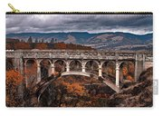 Bridge Over Autumn Carry-all Pouch