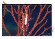 Bright Red Crab On Fan Coral, Papua New Carry-all Pouch