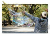 Bubble Boy Of Central Park Carry-all Pouch