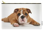 Bulldog Puppy Carry-all Pouch