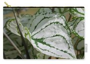Caladium Named White Christmas Carry-all Pouch