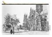 Canterbury Cathedral Carry-all Pouch