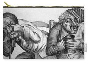 Caricature Of Two Alcoholics, 1773 Carry-all Pouch