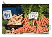 Carrots Carry-all Pouch by Tom Gowanlock