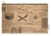 Catalog Page, C1900 Carry-all Pouch