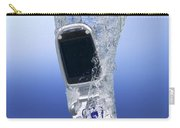 Cell Phone Dropped In Water Carry-all Pouch