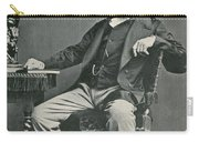 Charles Dickens, English Author Carry-all Pouch by Photo Researchers
