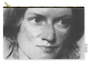 Charlotte Bronte, English Author Carry-all Pouch by Science Source