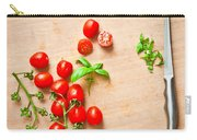 Cherry Tomatoes Carry-all Pouch by Tom Gowanlock