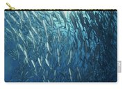 Circling School Of Jacks Trevally Carry-all Pouch