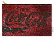 Coca Cola Classic Vintage Rusty Sign Carry-all Pouch