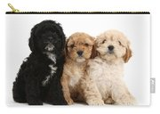 Cockerpoo Puppies Carry-all Pouch