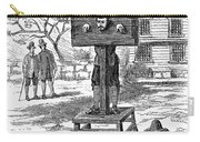 Colonial Pillory - To License For Professional Use Visit Granger.com Carry-all Pouch