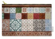 Colorful Glazed Tiles Carry-all Pouch