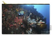 Colorful Reef Scene With Coral Carry-all Pouch