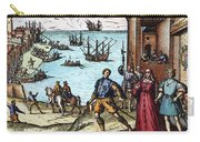 Columbus: Departure, 1492 Carry-all Pouch