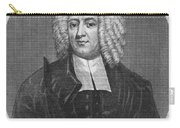 Cotton Mather (1663-1728) Carry-all Pouch