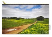 Countryside Landscape Carry-all Pouch by Carlos Caetano