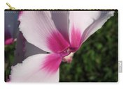 Cyclamen Named Victoria Carry-all Pouch